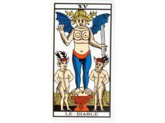 carte tarot Le diable