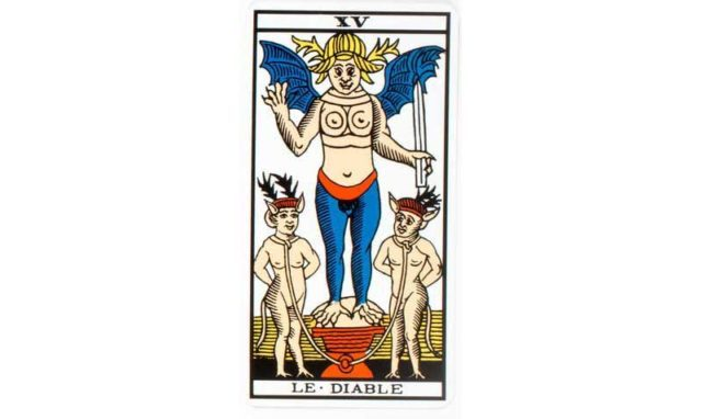 carte tarot Le diable