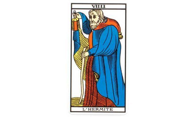 carte tarot l'ermite