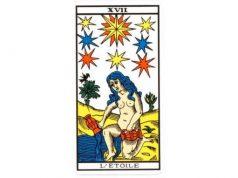 carte tarot L'étoile
