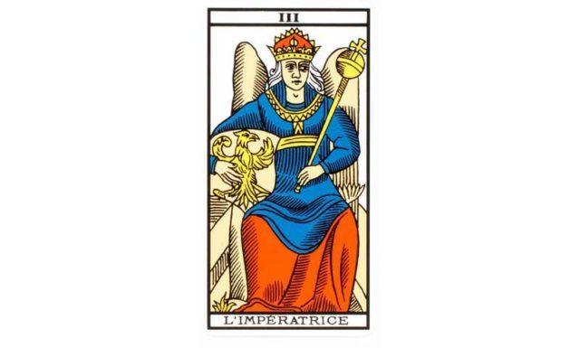carte tarot L'impératrice