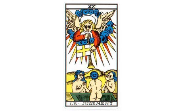 carte tarot Le Jugement