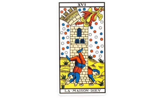 carte tarot La maison Dieu