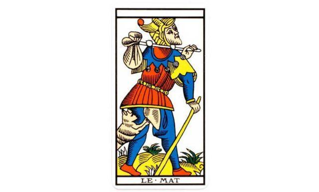 carte tarot Le Mat
