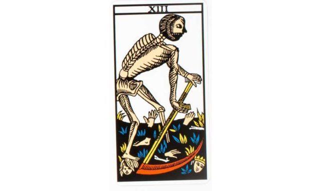 carte tarot Sans nom (ou la mort)