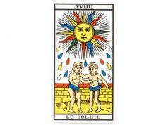carte tarot Le Soleil